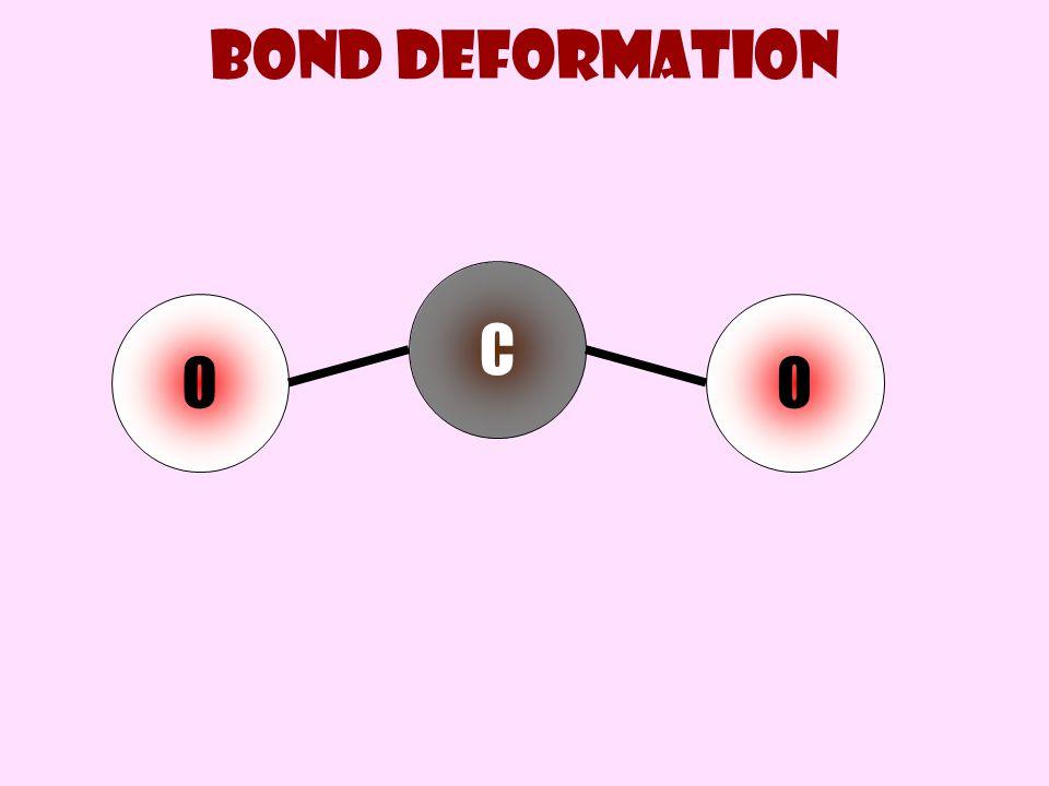 Bond deformation C O O