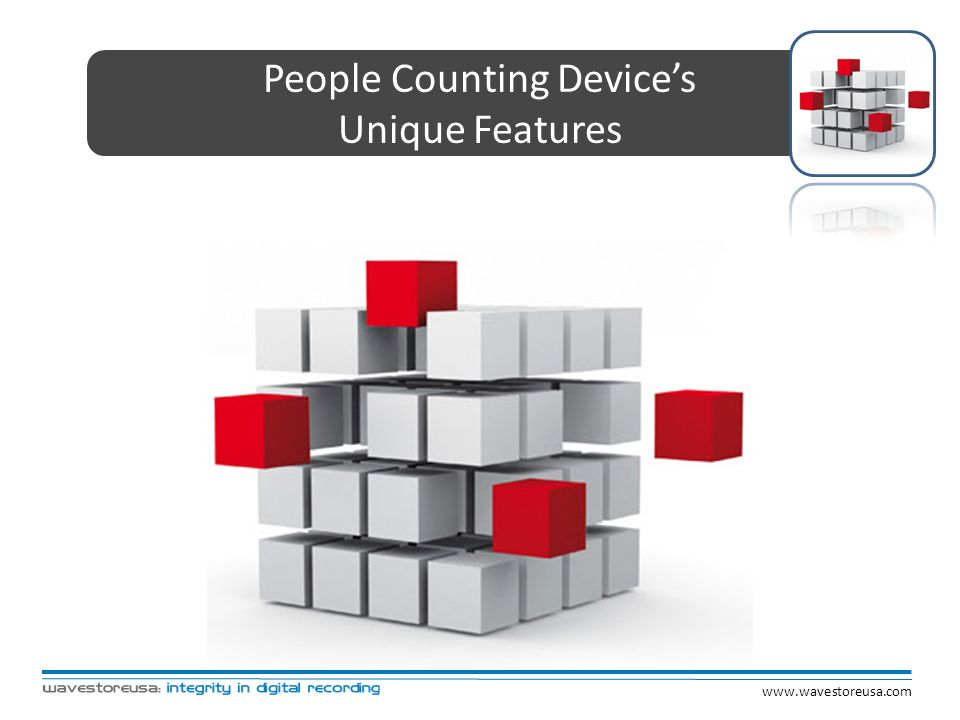 People Counting Device's
