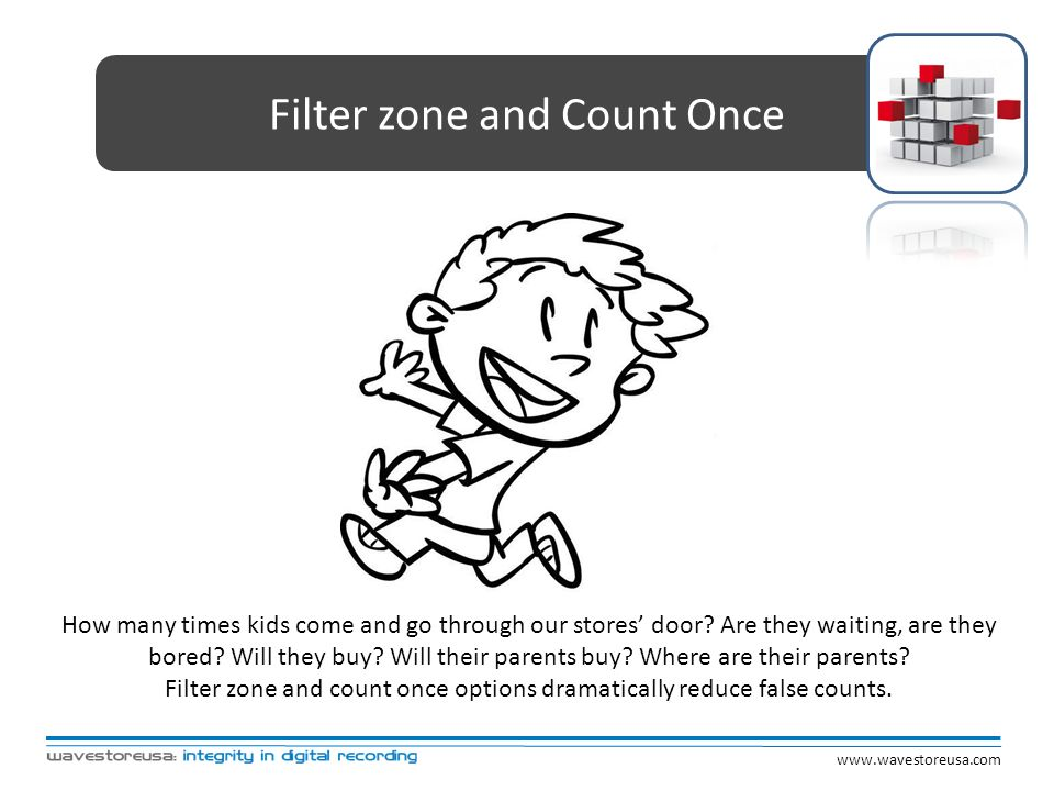 Filter zone and Count Once