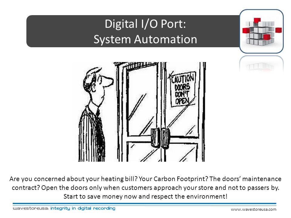Digital I/O Port: System Automation