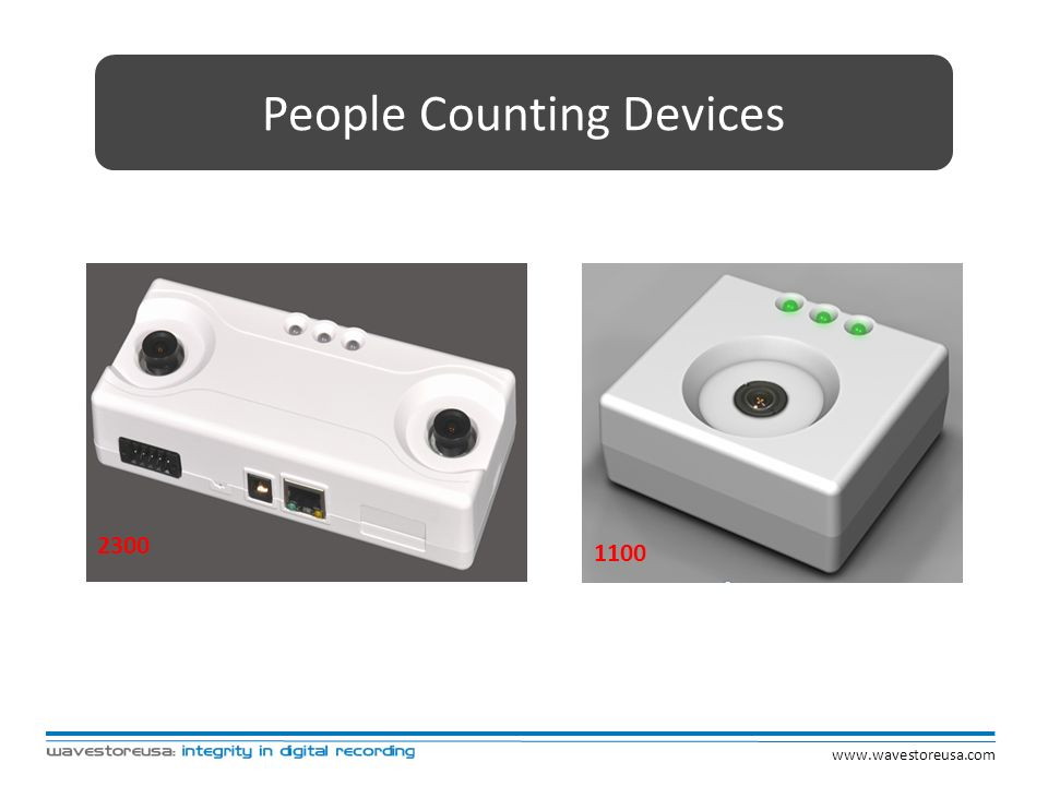 People Counting Devices