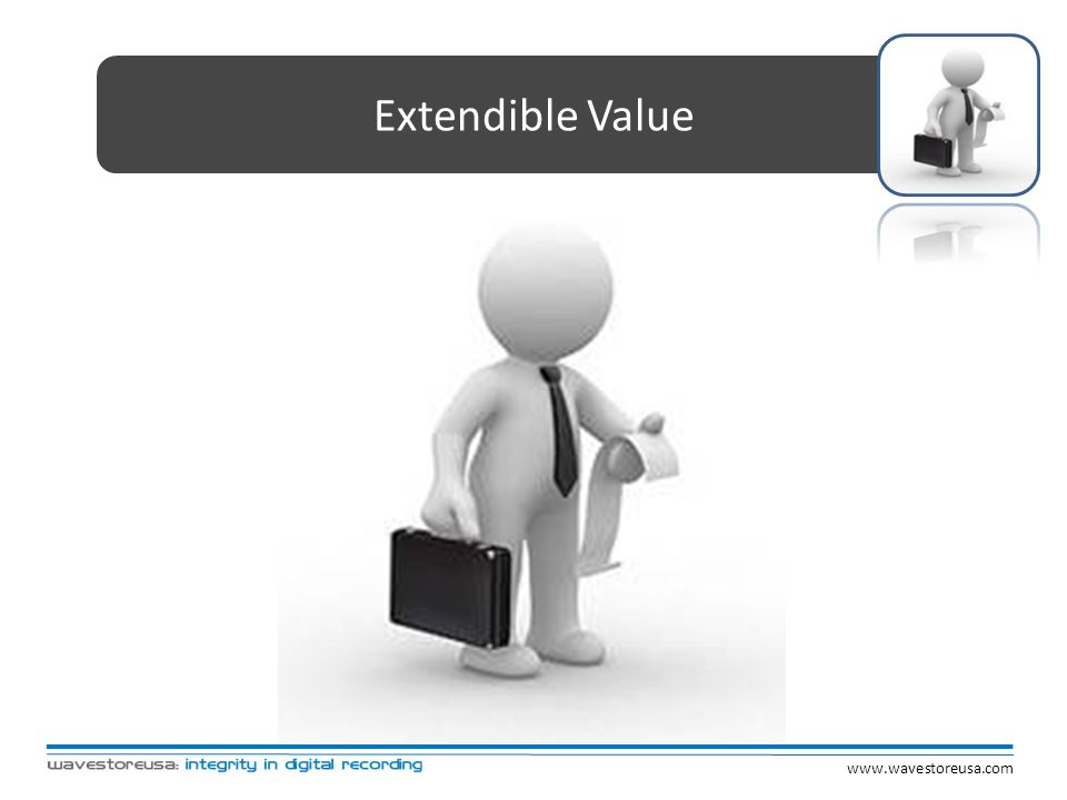 Extendible Value www.wavestoreusa.com