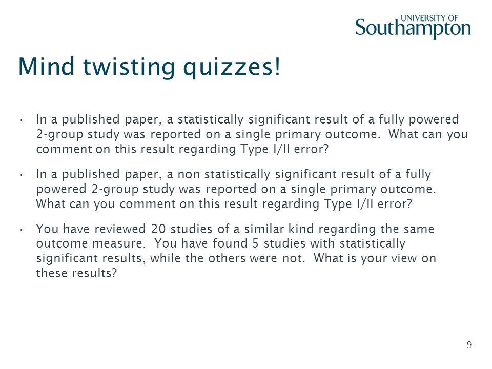 Mind twisting quizzes!