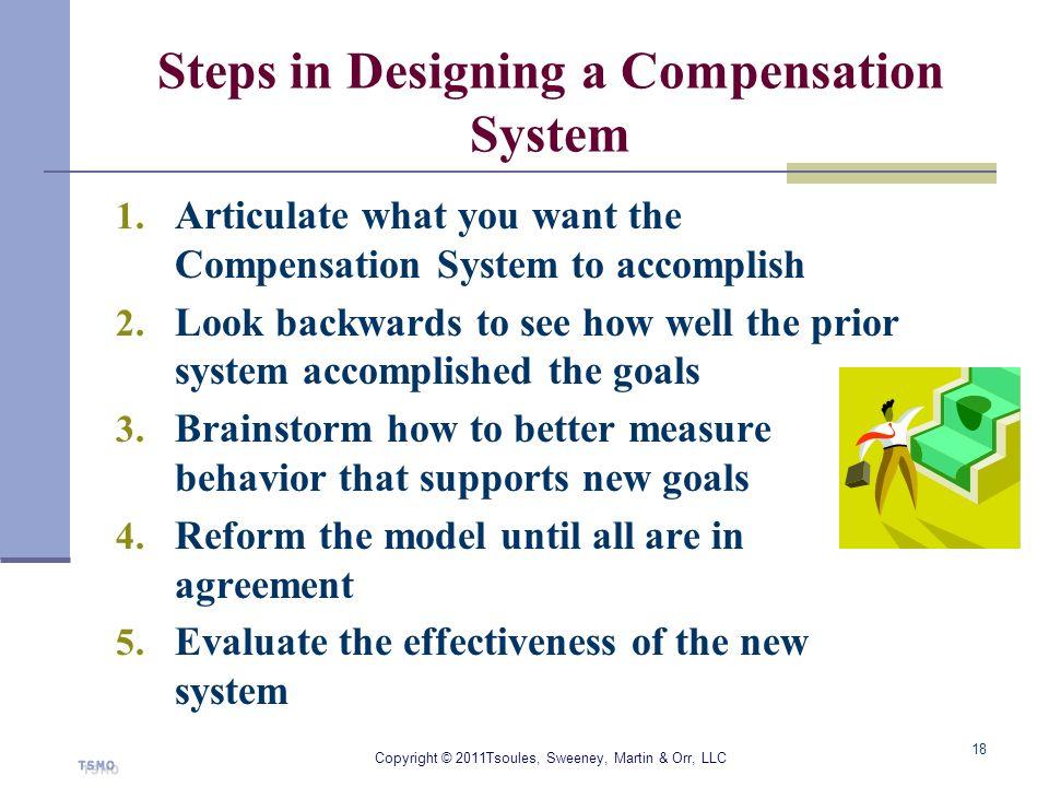 Steps in Designing a Compensation System