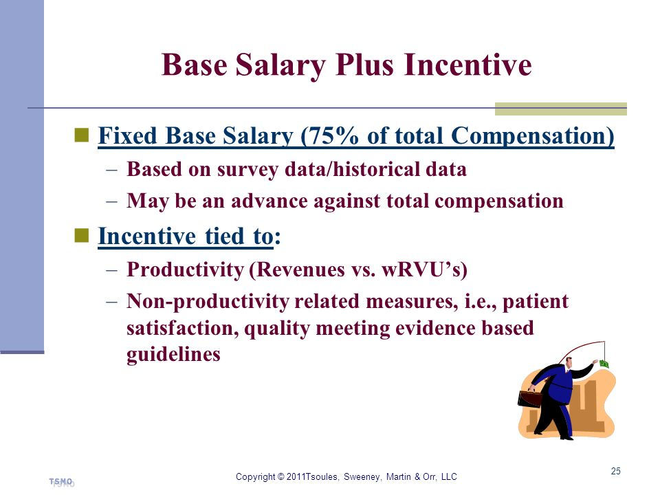 Base Salary Plus Incentive