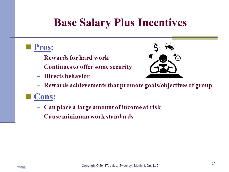 Base Salary Plus Incentives