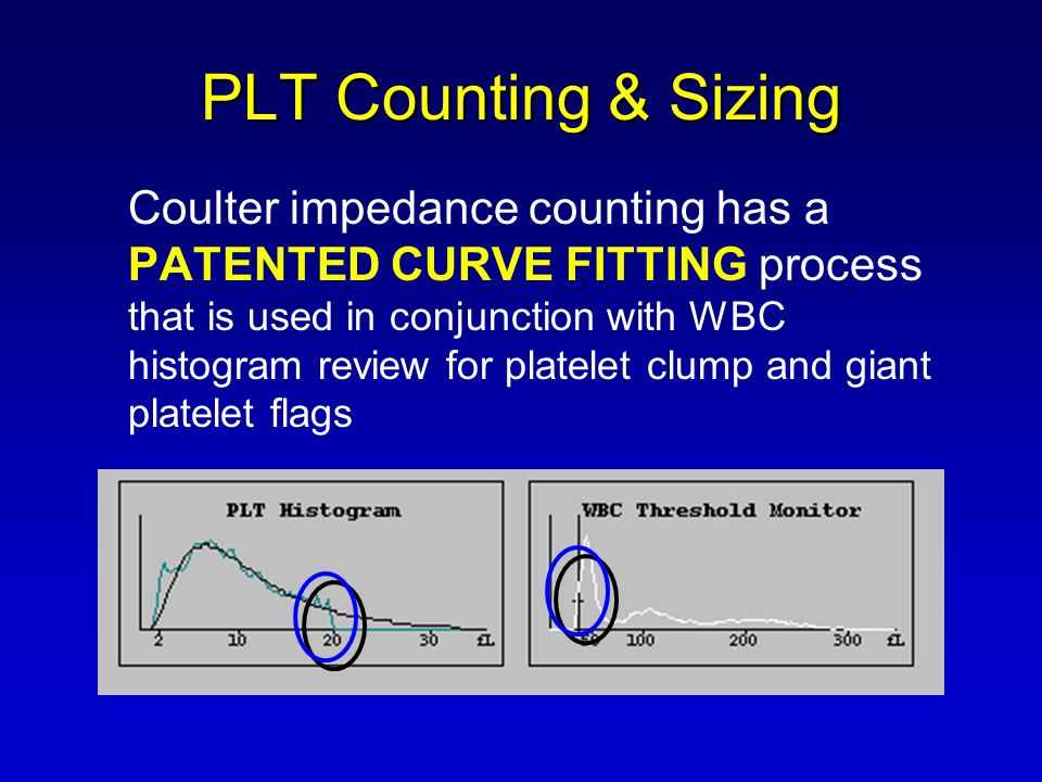 PLT Counting & Sizing