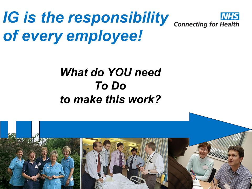 IG is the responsibility of every employee!
