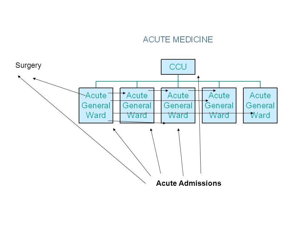 Surgery Acute Admissions