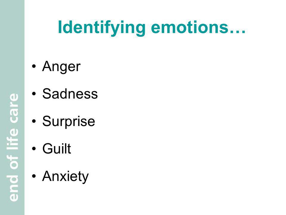 Identifying emotions…
