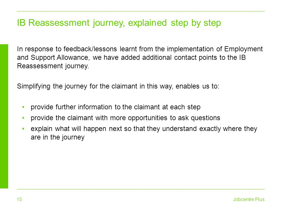 IB Reassessment journey, explained step by step