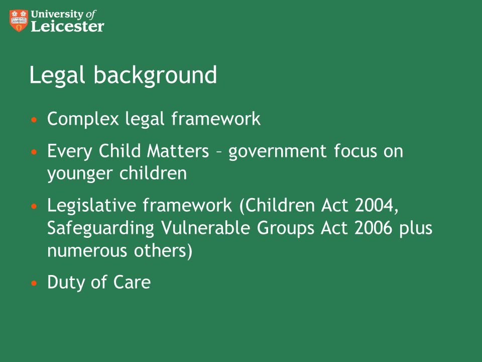 Safeguarding policy: protecting vulnerable adults
