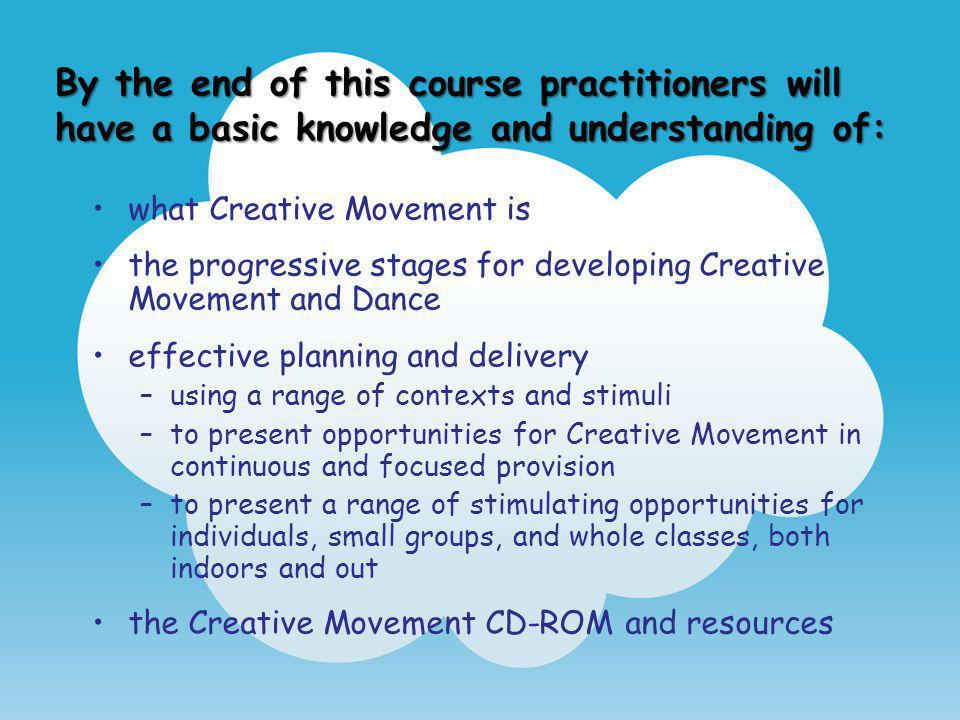 By the end of this course practitioners will have a basic knowledge and understanding of: