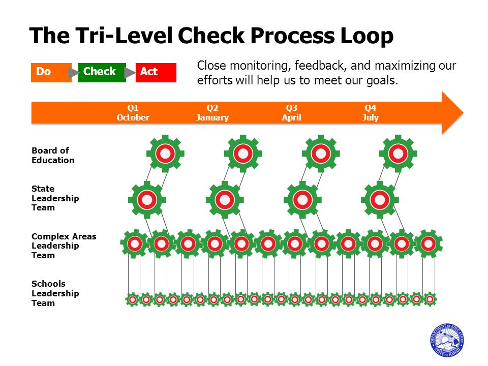 The Tri-Level Check Process Loop
