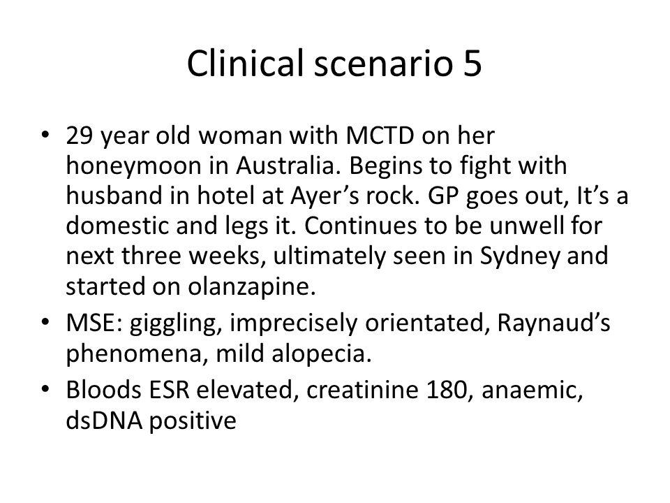 Clinical scenario 5