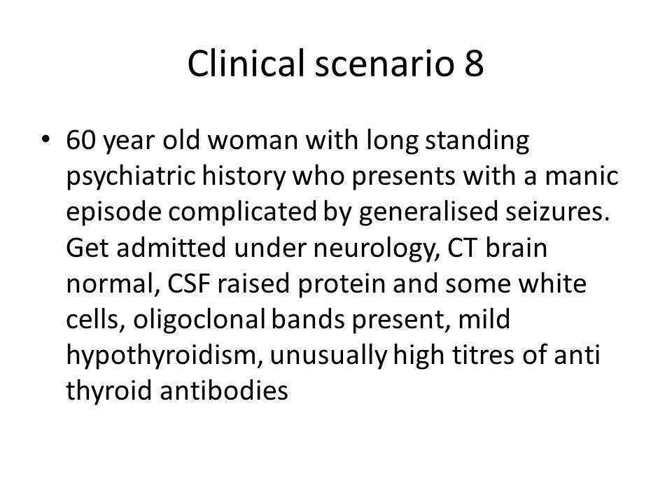 Clinical scenario 8