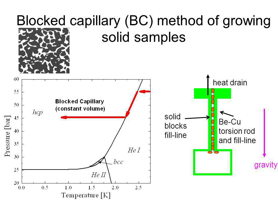 Blocked capillary (BC) method of growing solid samples