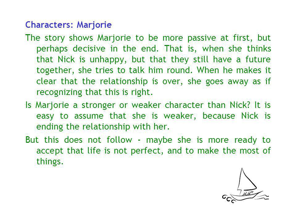 Characters: Marjorie