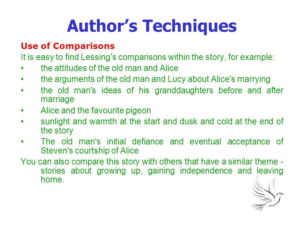 Author's Techniques Use of Comparisons
