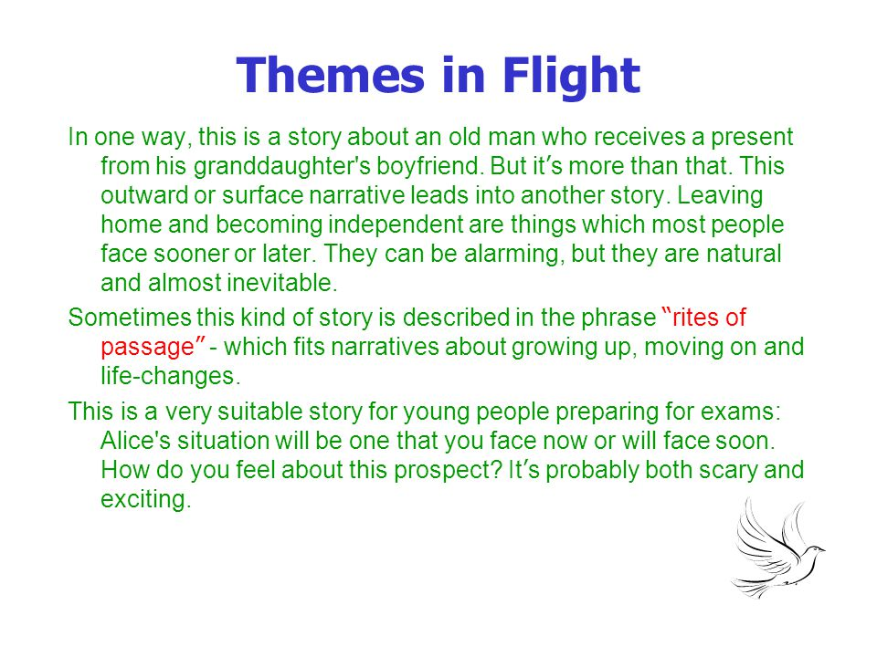 Themes in Flight