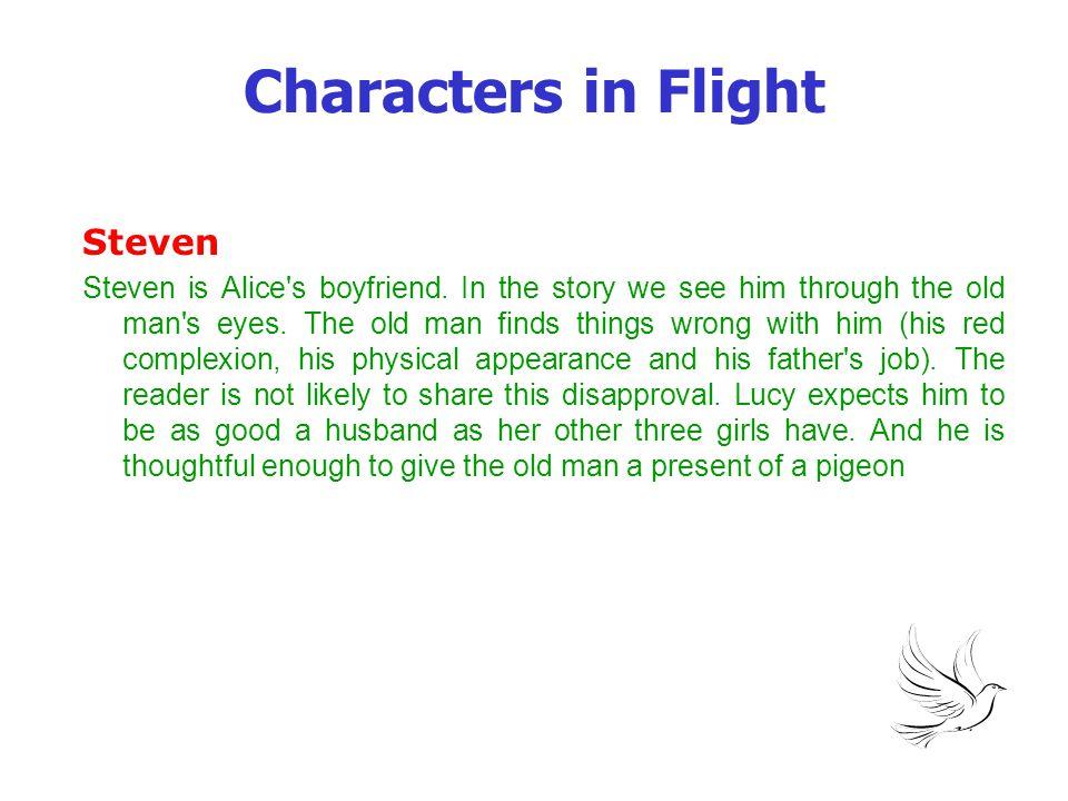 Characters in Flight Steven