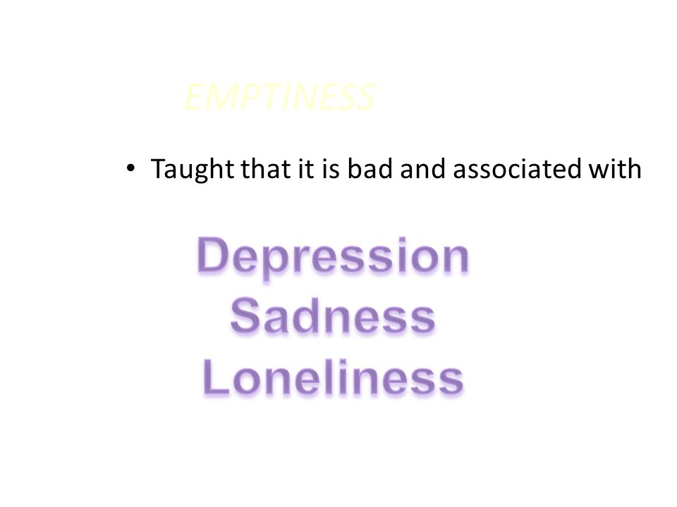 Depression Sadness Loneliness