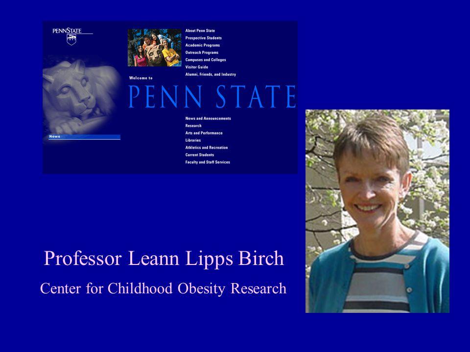Professor Leann Lipps Birch