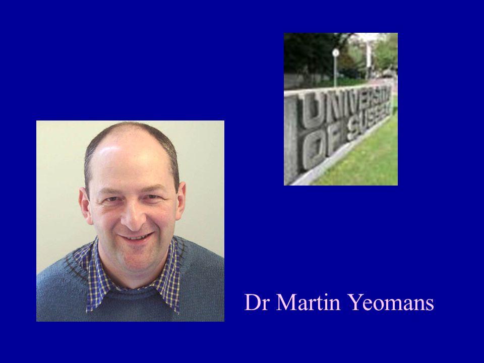 Dr Martin Yeomans