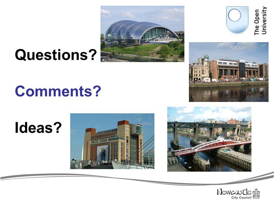 Questions Comments Ideas