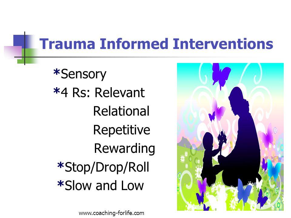 Trauma Informed Interventions