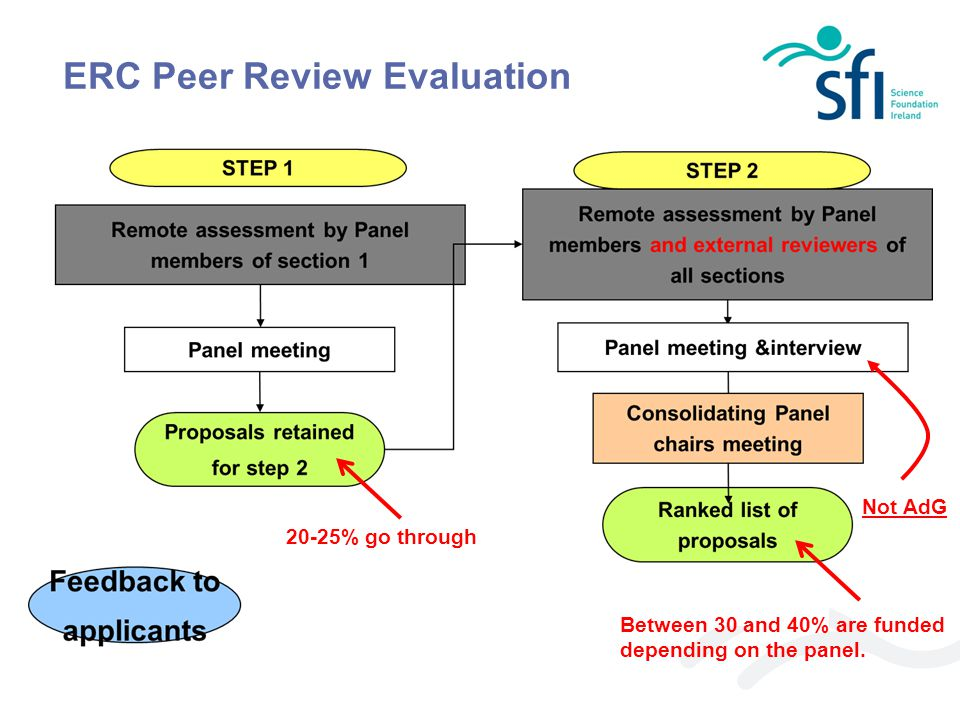 ERC Peer Review Evaluation