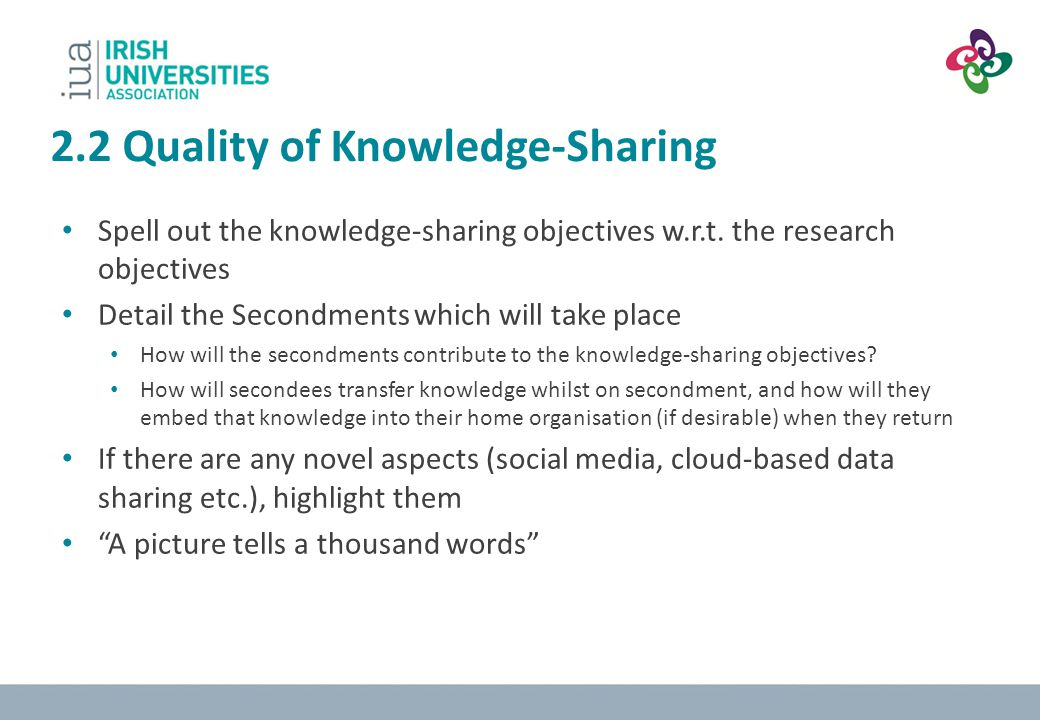 2.2 Quality of Knowledge-Sharing
