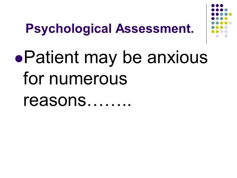 Psychological Assessment.