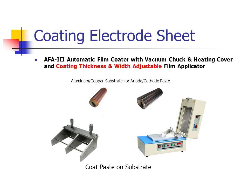 Coating Electrode Sheet