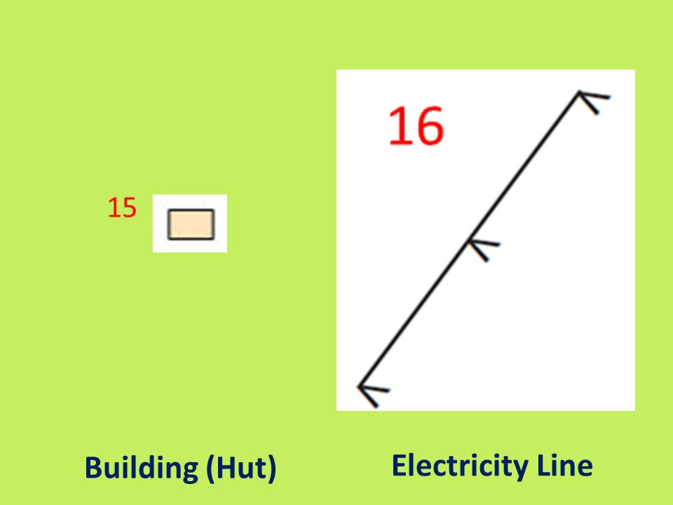 Building (Hut) Electricity Line