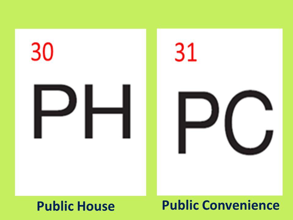 Public House Public Convenience