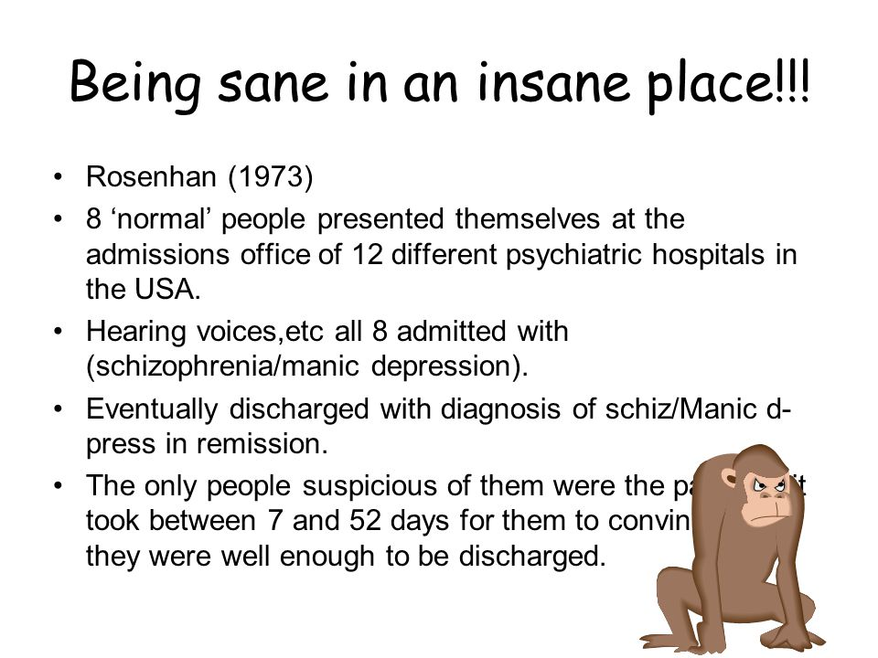 Being sane in an insane place!!!