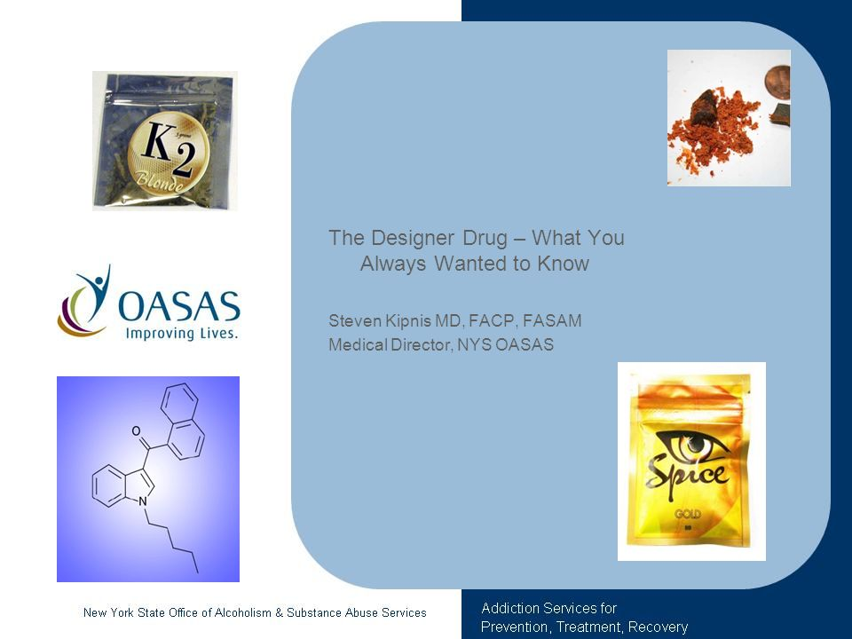 The Designer Drug – What You Always Wanted to Know