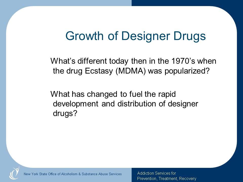 Growth of Designer Drugs