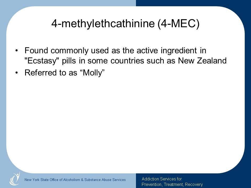 4-methylethcathinine (4-MEC)