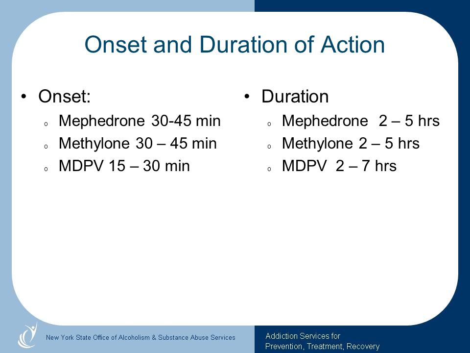 Onset and Duration of Action