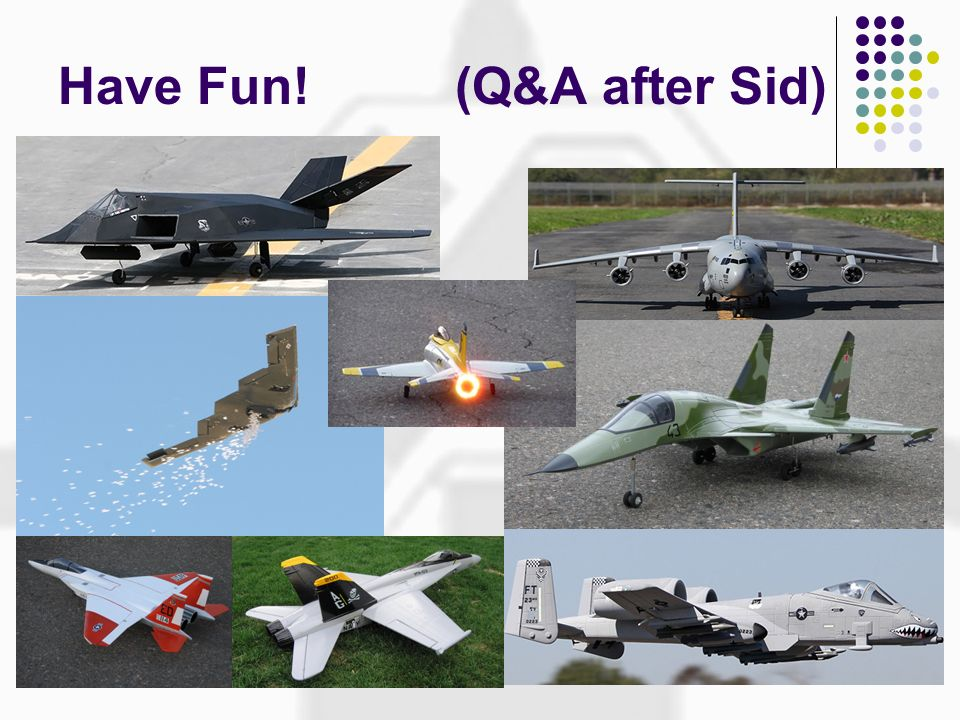 Have Fun! (Q&A after Sid)