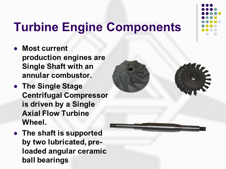 Turbine Engine Components