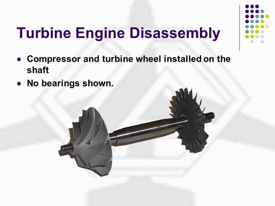 Turbine Engine Disassembly