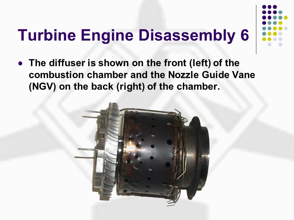 Turbine Engine Disassembly 6