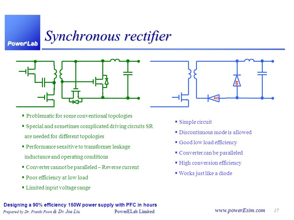 Synchronous rectifier