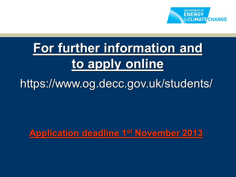 For further information and to apply online