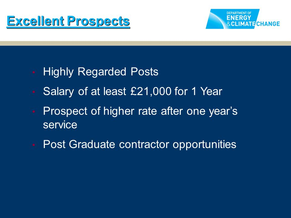 Excellent Prospects Highly Regarded Posts