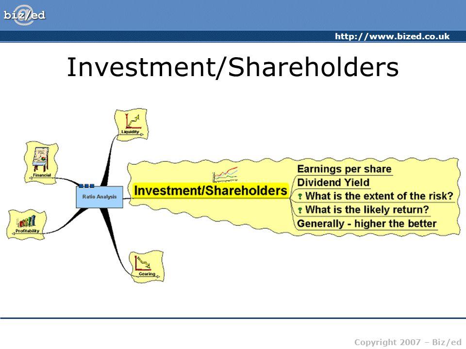 Investment/Shareholders