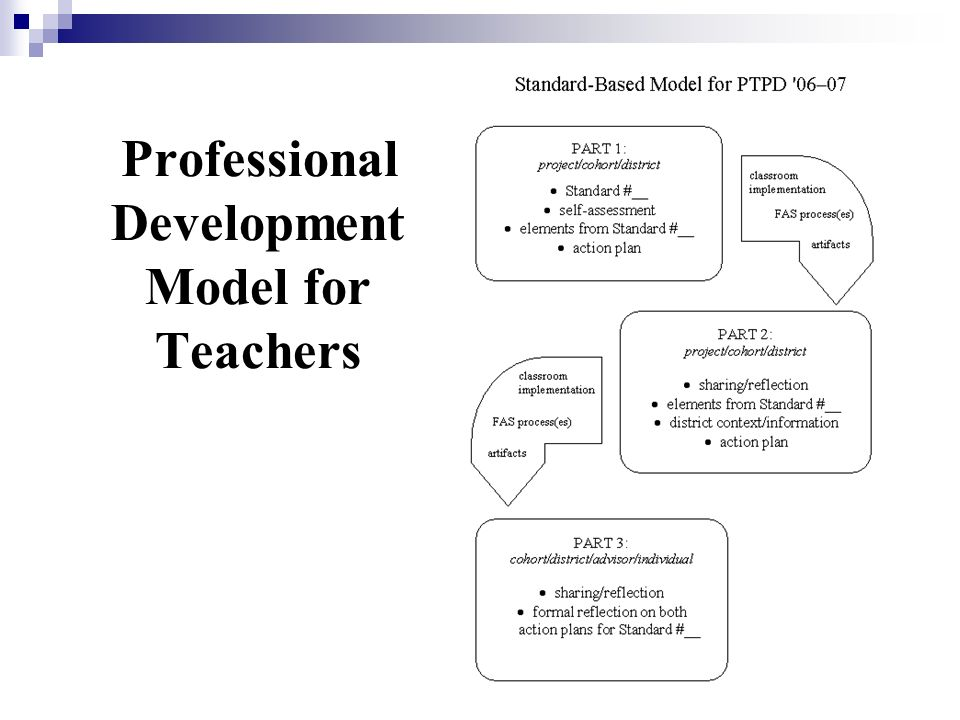 Professional Development Model for Teachers
